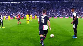 This Is Why FC Barcelona Paid €60 Millions For Miralem Pjanic