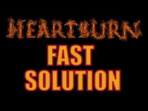 How to Cure Acid Reflux FAST