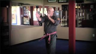 Hanshi Dan Tosh of Shorin-Ryu Karate in Brentwood California