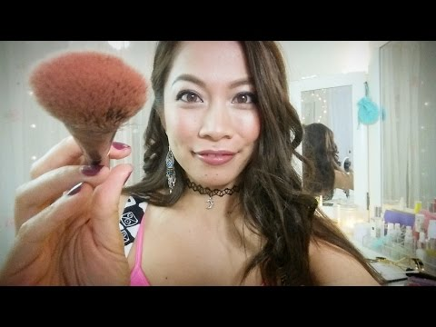 ASMR *Doing Your Face & Brows @TheMakeoverCounter (UNISEX) Urban Decay