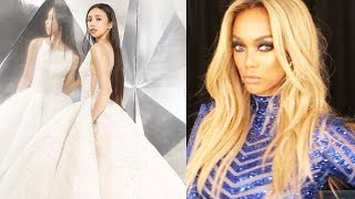 TYRA BANKS Praises Maymay Entrata's gown during the Star Magic Ball 2017