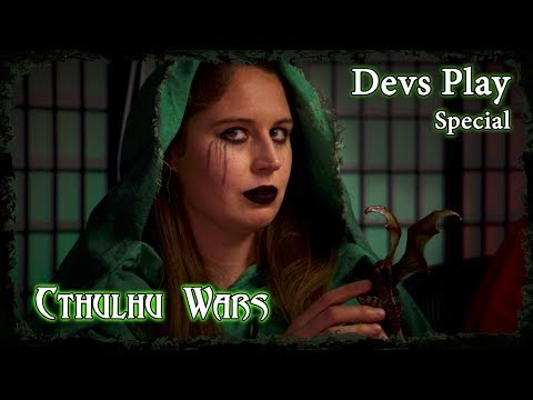 Devs Play Board Game Special //  Cthulhu Wars - Part 1