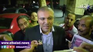 الليثي والصريطي ومصيلحي في عزاء فاروق شوشة.. فيديو