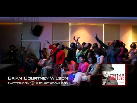 "Brian Courtney Wilson - ""Awesome God"" Performance - Music World Gospel"