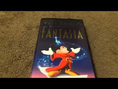 Walt Disney's Fantasia VHS Review