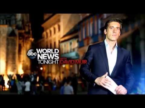[US] ABC World News Tonight : With David Muir | Promo - (12.09.2016)