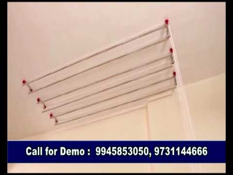 Pull and dry cloth dryer system