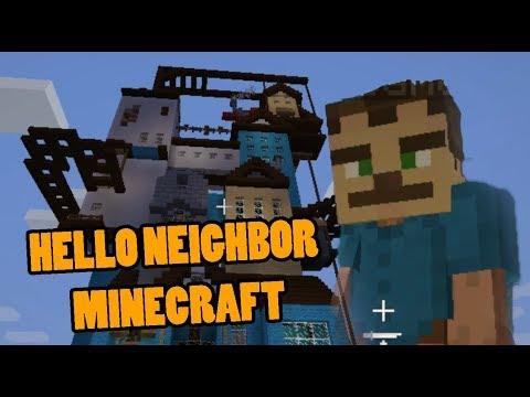 Hello Neighbor Minecraft Youtube