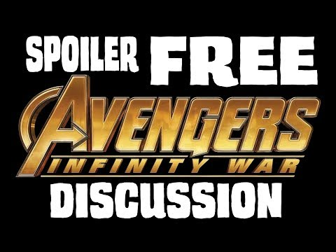 [SPOILER FREE] Post-watch Infinity War discussion