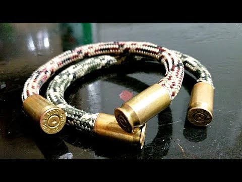 DIY Copper Bullet Bracelet