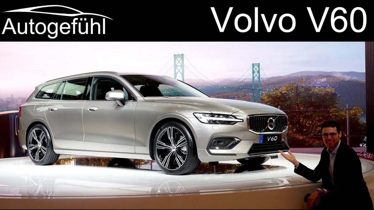 All-new Volvo V60 REVIEW 2019 - Geneva Motor Show 2018 - Autogefühl - Dauer: 27 Minuten