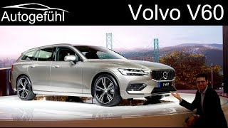 All-new Volvo V60 REVIEW 2019 - Geneva Motor Show 2018 - Autogefühl