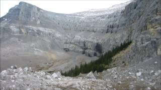 Waiparous Alberta Dirt bike and Mountain Climb