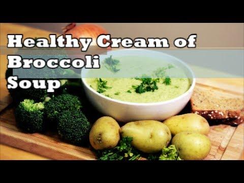 Healthy Cream Of Broccoli Soup