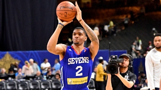 Devondrick Walker's Final Round at NBA D-League Three-Point Contest