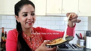Cheese Naan | How To Make Cheese Naan Recipe | Cheese Naan On Tawa | Quick Cheese Naan