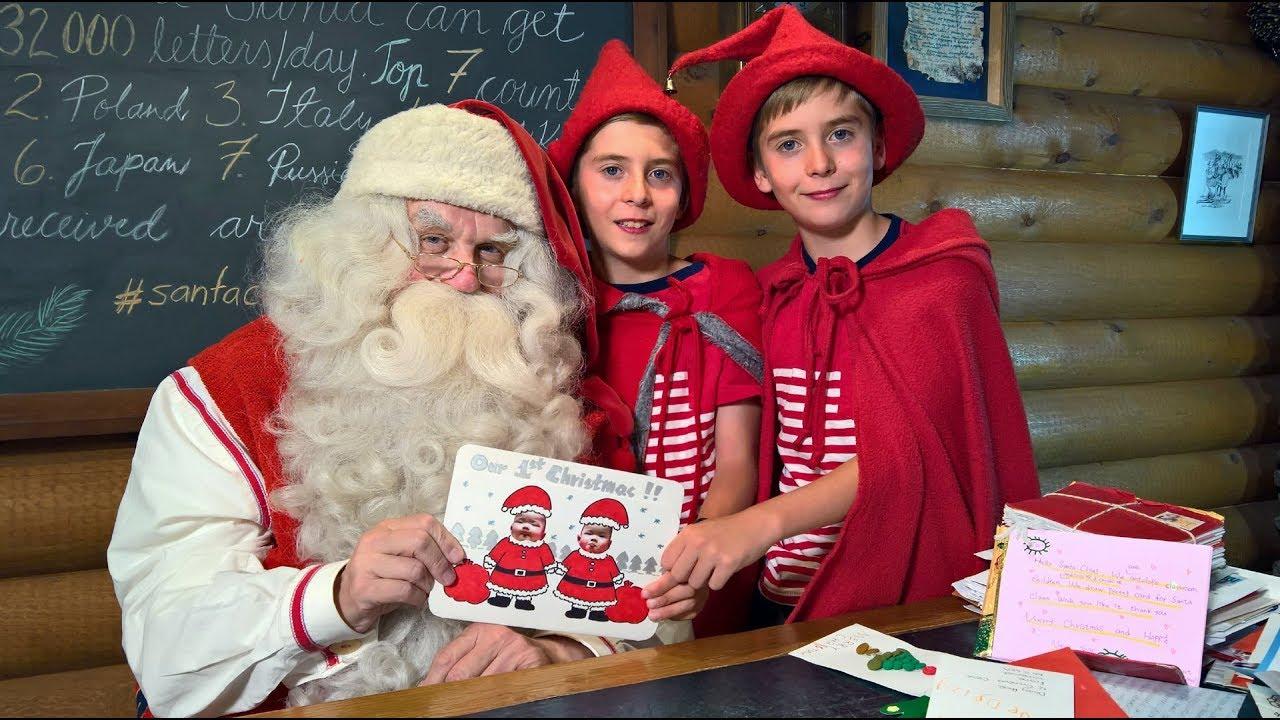 Lapponia Casa Di Babbo Natale Video.Video Babbo Natale A Rovaniemi In Lapponia Filmati Finlandia
