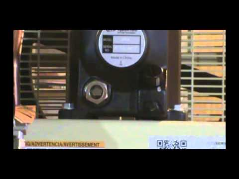 Ingersoll Rand Air Compressor Install Part 1 - YouTube