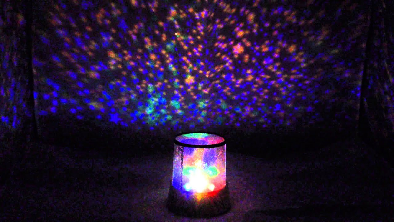 Cosmos Planet Lamp Star Sky Night Light Projector Music