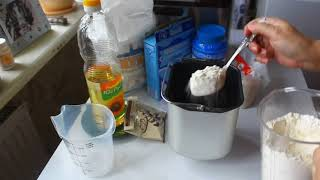Рецепт белого хлеба в хлебопечке  GUERRA Selsa HV-2567