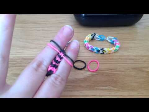 How To Inverted Fish Loom With Fingers