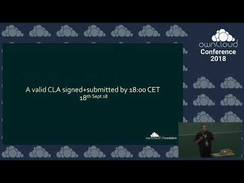 ownCloud conference 2018 ownCloud Foundation - A huge Milest