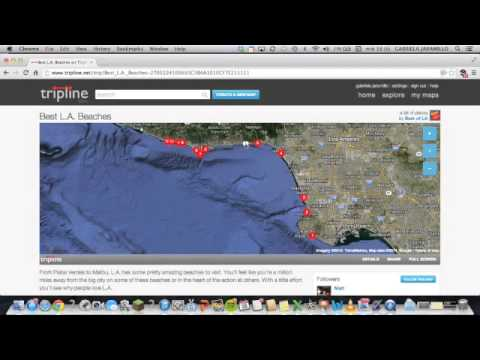 how to explore tripline maps