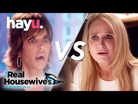 Kim & Lisa Epic Fight in Amsterdam: Pt 1 | The Real Housewives of Beverly Hills