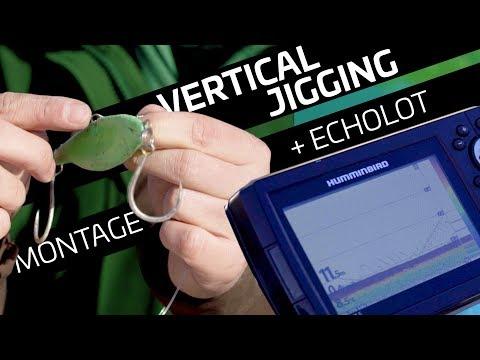 Vertical Jigging: Montage Binden + Echoloterklärung | Www.zeck-fishing.com