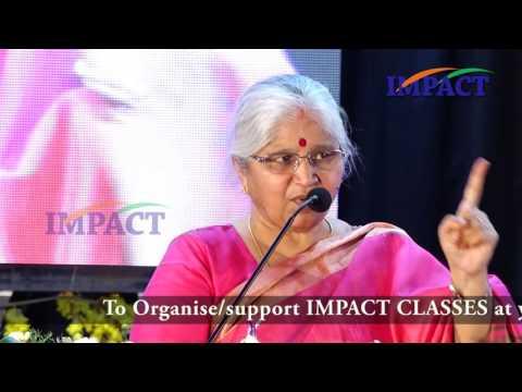 Attitude by  Smt G Satynavani at IMPACT Tirupati 2017