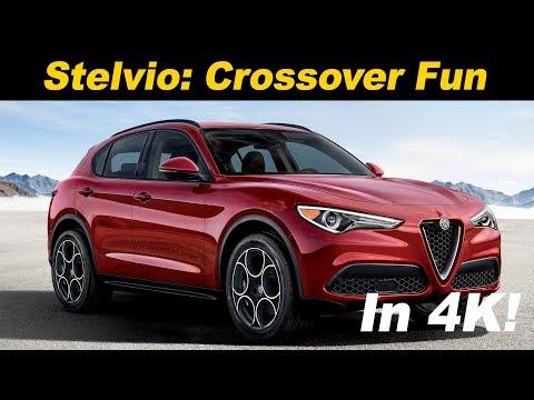 2018 Alfa Romeo Stelvio Review and Road Test In 4K