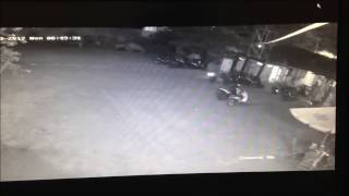 Detik Detik Pencuri Helm Tertangkap / Helmet Thief Caught On CCTV