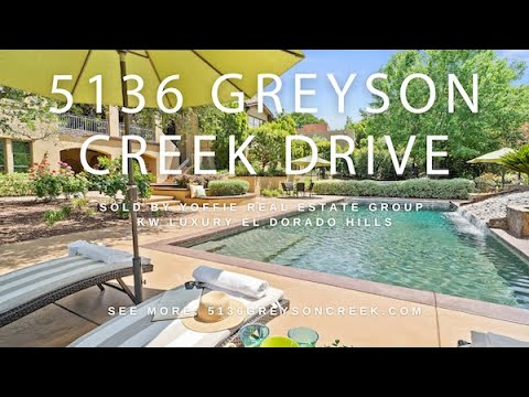 For Sale In El Dorado Hills, 5136 Greyson Creek Drive - Where Every Day Is A Vacation