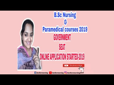 Kerala Bsc Nursing And paramedical Courses 2019 Govt By Lbs Site Details  Malayalam Mothersnursing