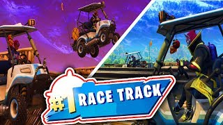 Fortnite LEGENDARY RACETRACK!!! | Minigame Madness!