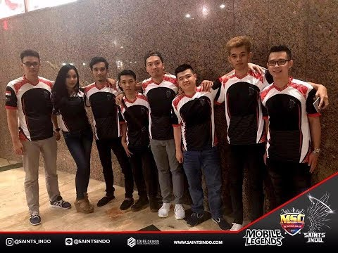 Inilah sosok asli PLayers Dari Squad Saints INDO Ada WARPATH Mobile Legends
