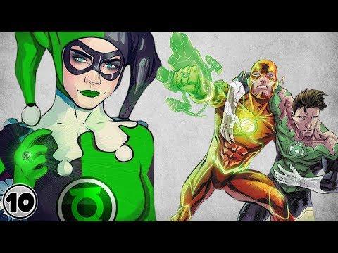 Top 10 Superheroes Who Were A Green Lantern