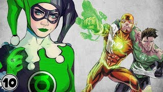 Top 10 Superheroes Who Were A Green Lantern