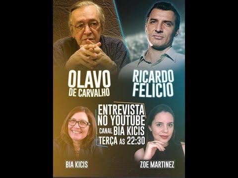 Olavo de Caravlho e Prof. Ricardo Felício recebidos por Bia Kicis e Zoe Martinez