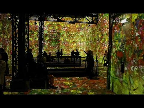 Klimt paintings go digital in new Paris expo