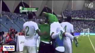 and x202b;هدف سالم الدوسري العالمي السعودية والإمارات 3 2 خليجي 22 and x202c; and lrm;   YouTube