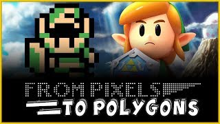 The History of The Legend of Zelda Series - From Pixels to Polygons