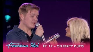 "Caleb Hutchinson & Bebe Rexha Duet Her HIT SONG ""Meant To Be"" – Just WOW! 