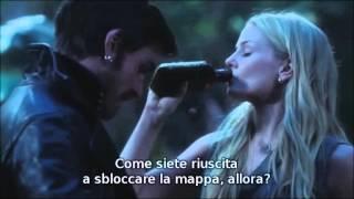 "OUAT: Emma e Hook ""Dunque, chi siete, Swan?"" 3x02 Sub Ita."