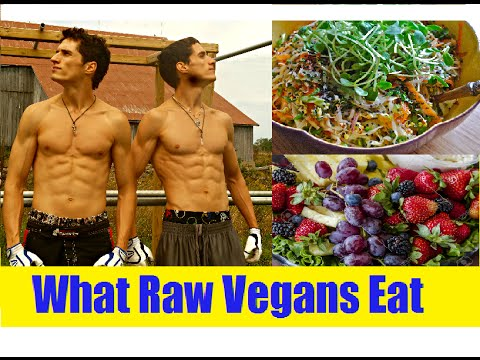 What Raw Vegans Eat In A Day