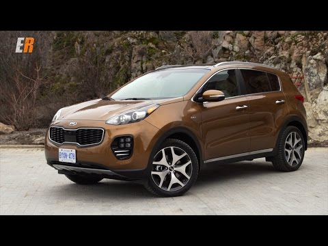 2017 Kia Sportage First Test Drive Review -  The compact SUV class just got a lot tougher