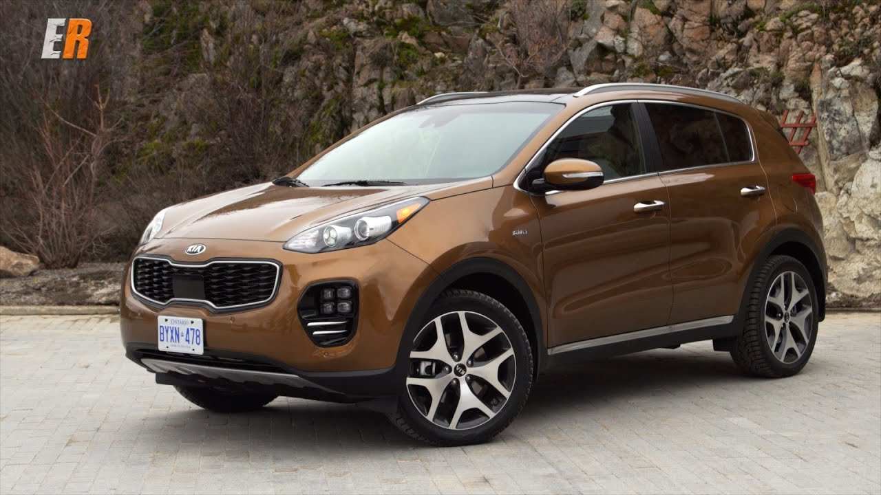 2017 kia sportage first test drive review the compact. Black Bedroom Furniture Sets. Home Design Ideas