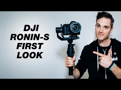 DJI's First Handheld DSLR Gimbal — DJI Ronin-S First Look