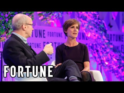Sally Yates Talks About Her Ten Days as Deputy Attorney General I Fortune