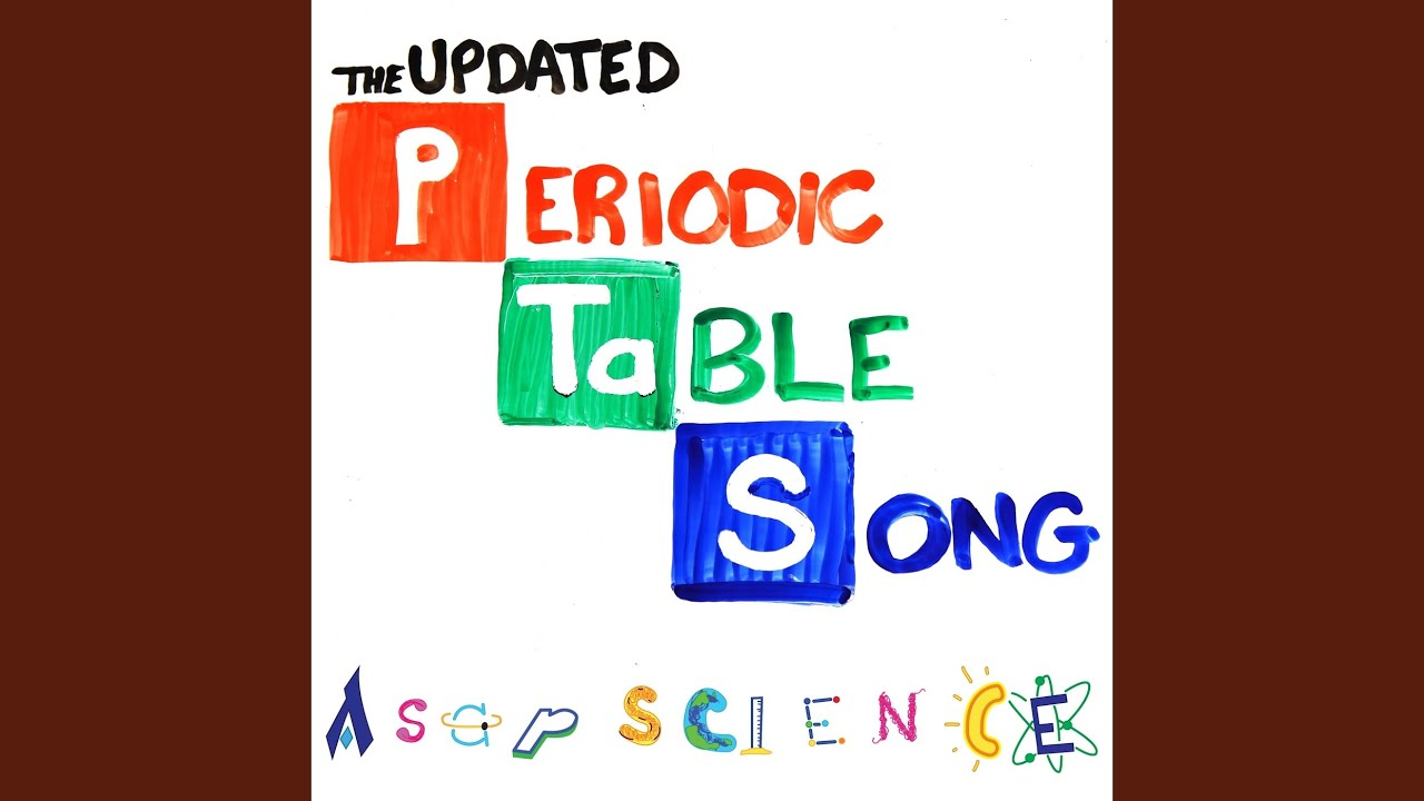 The Periodic Table Song (2018 Update) Youtube